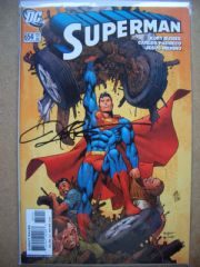 Superman #654 DF Signed Kurt Busiek COA Ltd 100